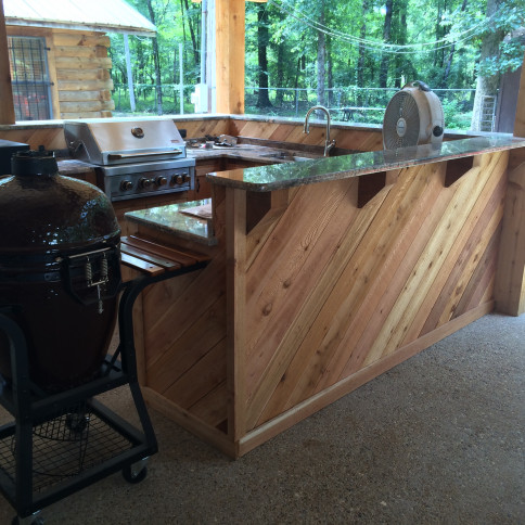 outdoor kitchens haughton la